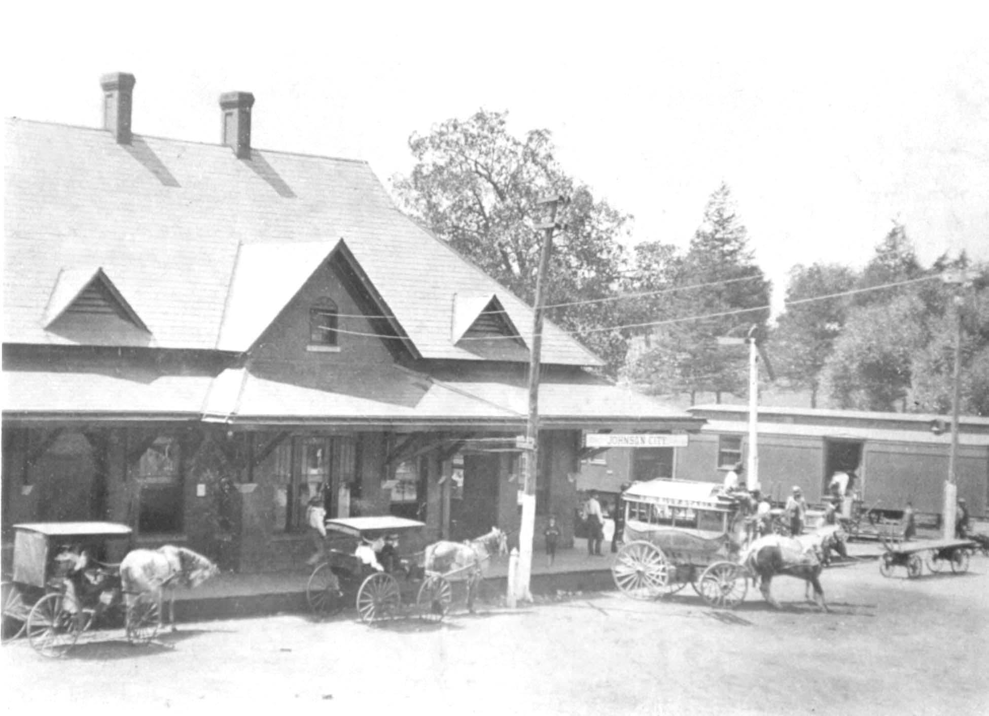 Historic Photos - Johnson City, Tennessee Volume 1