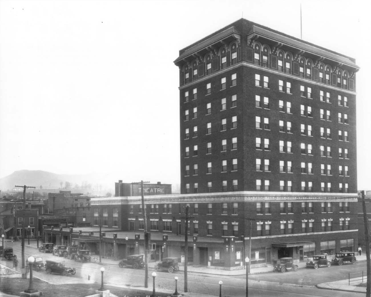 The John Sevier Hotel 1927