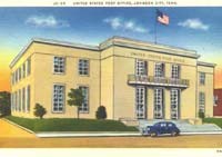 Johnson City Post Office State Of Franklin